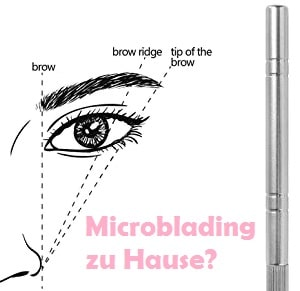 Lohnt sich Microblading zuhause